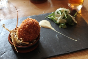 Mark's offending scotch egg