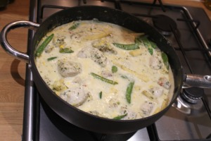 The Thai Green curry.