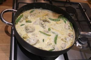 The Thai Green curry.